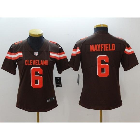 finest selection fe4d9 1c759 Women Cleveland Browns Baker Mayfield Jersey (6)